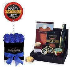 birthday caviar gift her roses