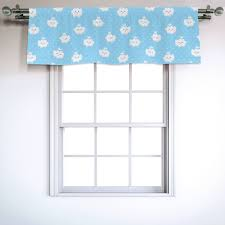 East Urban Home Boys And Girls Pattern 54 Window Valance Wayfair