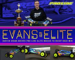 Dustin Evans Drives Pro-Line Elite Bodies to Reedy Race Win! | Pro-Line  Factory Team