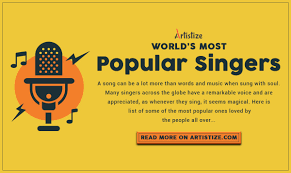 Image result for the most popular singers words