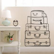 Travel Bags Wall Art Decal