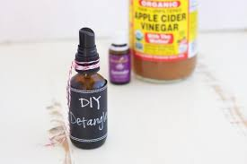 natural homemade detangler 3 ings