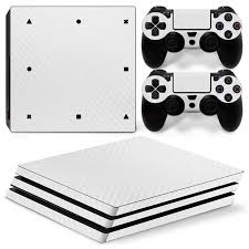 2020 White Carbon Fiber Game Accessories Vinyl Decal Sticker For Ps4 Pro Console From Family Angel 15 08 Dhgate Com