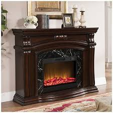 62 grand cherry fireplace at big lots
