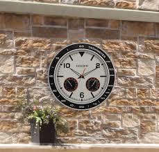 citizen wall clock cream color