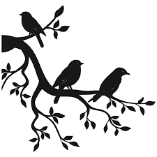 Paper Sticker Branch Bird Wall Decal Bird Png Download 800 800 Free Transparent Paper Png Download Clip Art Library