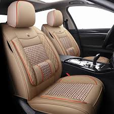 new leather ice silk car seat covers