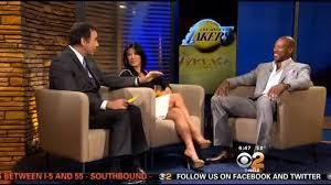 CBS Los Angeles - LA Lakers head coach Byron Scott joined...