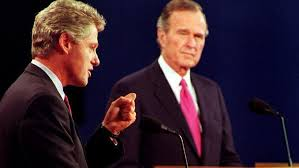 1992 — Bush v. Clinton v. Perot