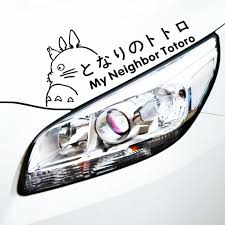Etie Car Decoration Cartoon Funny Lovely Totoro Sticker Decal For Motorcycle Laptop Trunk Honda Toyota Lada Wardrobe Focus Golf Car Stickers Aliexpress