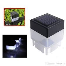 2020 2x2 Solar Fence Post Cap Light Square Solar Powered Pillar Light For Wrought Iron Fencing Front Yard Backyards Gate Landscaping Residential From Chrissy9421 4 99 Dhgate Com