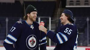 Winnipeg Jets: Mark Scheifele + Adam Lowry   Snack Shots - YouTube