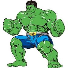 The Hulk Angry Marvel Super Heroes Colored Cartoon Character Wall Art Sticker Vinyl Decals Girls Boys Children Baby Bedroom House School Wall Decor Removable Sticker Peel And Stick Size 30x15 Inch