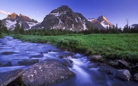 charming natural scenery hd wallpaper