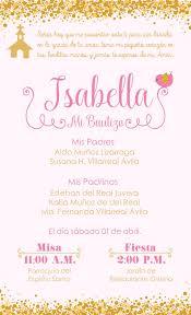 Josefa Y Julieta Invitacion Bautizo Nina Invitaciones De
