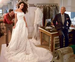 dress for wedding to george clooney