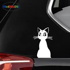 Car Sticker Sailor Moon Cute Pet Cat Lady Silhouette Suv Window Bumper Door Laptop Kayak Canoe Lovely Decal Hotmeini 12 7 8 2 Cm Car Stickers Aliexpress