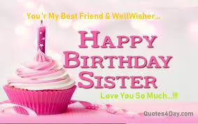 happy birthday wishes for sister quotes messages quotesday