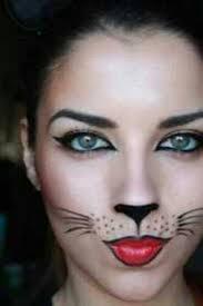 perfect cat face makeup for