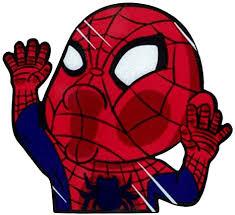 Amazon Com Funtaku Spiderman Comic Superhero Funny Hitting Glass Vinyl Decal Sticker For Car Window Computer 4 7 X 4 3 Arts Crafts Sewing