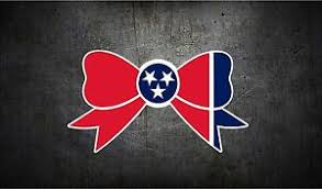 Tennessee Tri Star State Flag Bow 4 Vinyl Car Sticker Decal L Buy 1 Get 1 Free Ebay