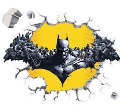 Batman Design Wall Decal 3d Art Stickers Vinyl Room Bedroom Mural Kids Nursery 2 Ebay