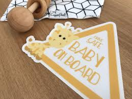 Babies On Board 4 5 Kids On Board Car Decal Little Ones On Board Car Decal 4 5 Inch Mom Baby Safety Children In Car Decal Family Car Sticker Handmade Products Decals