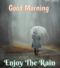 good morning wishes for a rainy day