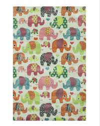 Hand Tufted Wool Ivory Transitional Kid S Kid S Elephant Rug Walmart Com Walmart Com