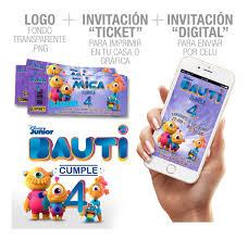 Invitacion De Cumpleanos Tarjetas Toy Story 4 Disney Forky 506