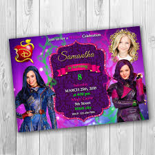 Descendants Invitations Descendants 2 Invitations Descendants