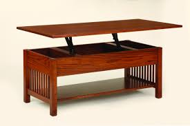amish mission coffee table w lift top