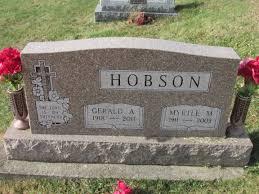 Myrtle Morris Hobson (1911-2009) - Find A Grave Memorial