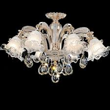 pendant glass shade chandelier lighting