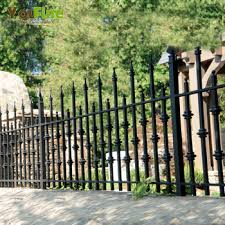Cheap Black Wrought Iron Fence Panels For Sale Buy Wrought Iron Fence For Sale Black Wrought Iron Fence For Sale Cheap Wrought Iron Fence Panels For Sale Product On Alibaba Com