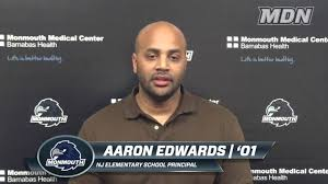 Aaron Edwards '01 is Monmouth Made - YouTube