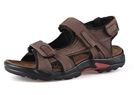 leather strap gladiator outdoor sandal