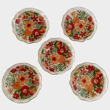 desert bowls with wild flowers fl