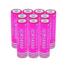 14500 Pin Lithium 1200mAh 3.7V Sạc cao cấp xả cao hiện Pin Cho ĐÈN LED Đèn  Pin Đèn Pin Đồ Chơi|
