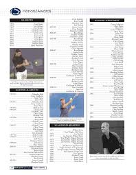 2010-11 Penn State Men's Tennis Yearbook by Penn State Athletics - issuu