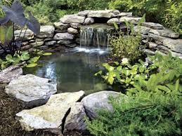 garden waterfall design