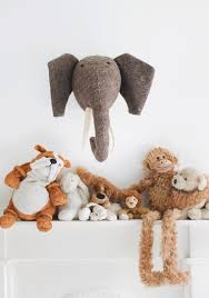Awesome Bodie And Fou Animal Heads To Decorate Your Kid S Room Kidsomania