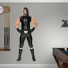 Fathead Wwe Seth Rollins Peel And Stick Wall Decal Wayfair