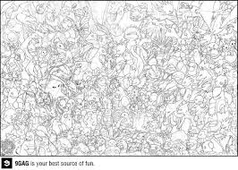 Pokemon Gen 7 Coloring Pages