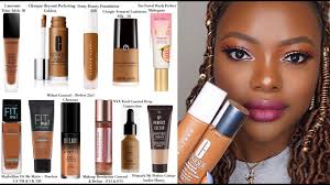 best foundations for dark skin top 10