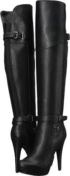 dayle knee high boots black