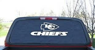Kc Kansas City Chiefs Window Sticker Vinyl Decal Any Size Any Color Ebay