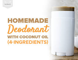 homemade deodorant with coconut oil 4