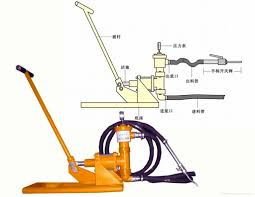 hand operation grout pump mg 808