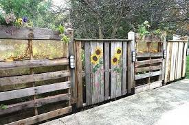 Pallet Garden Fence Ideas 14 Diy Wood Pallet Fence Ideas Woodsinfo